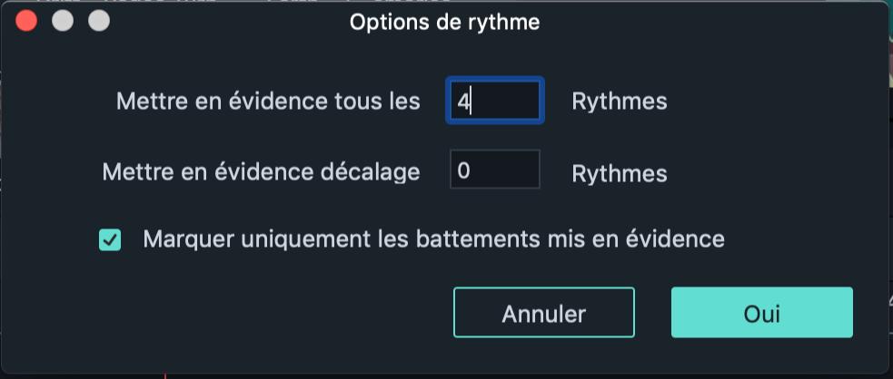 Détection du rythme
