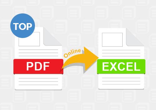 Les 5 Meilleurs Convertisseurs Gratuits De Pdf En Excel En Ligne