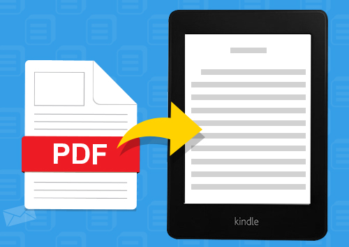 comment convertir un pdf en format kindle