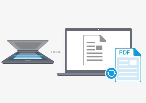2 solutions pour convertir un document scann u00e9 en pdf