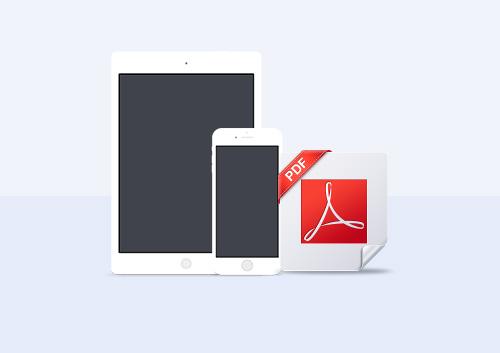 les 5 meilleurs diteurs pdf pour ipad et iphone. Black Bedroom Furniture Sets. Home Design Ideas