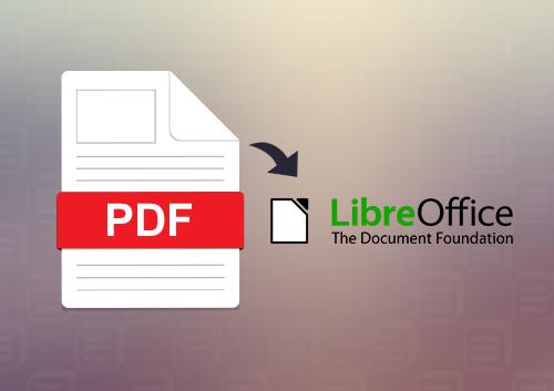 comment  u00e9diter un pdf avec libreoffice
