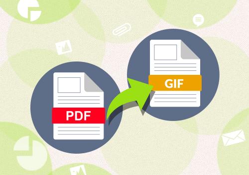 Comment convertir un PDF au format d'image GIF