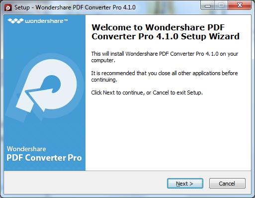 installer pdf converter pro