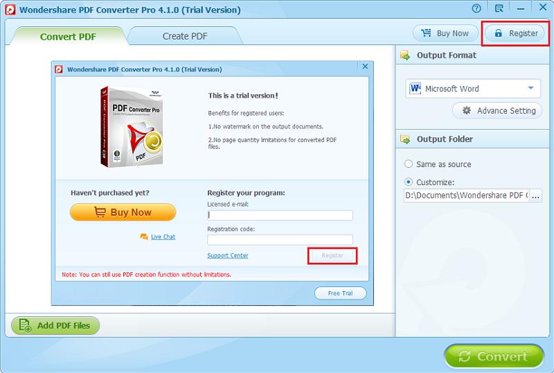 enregistrer pdf converter pro