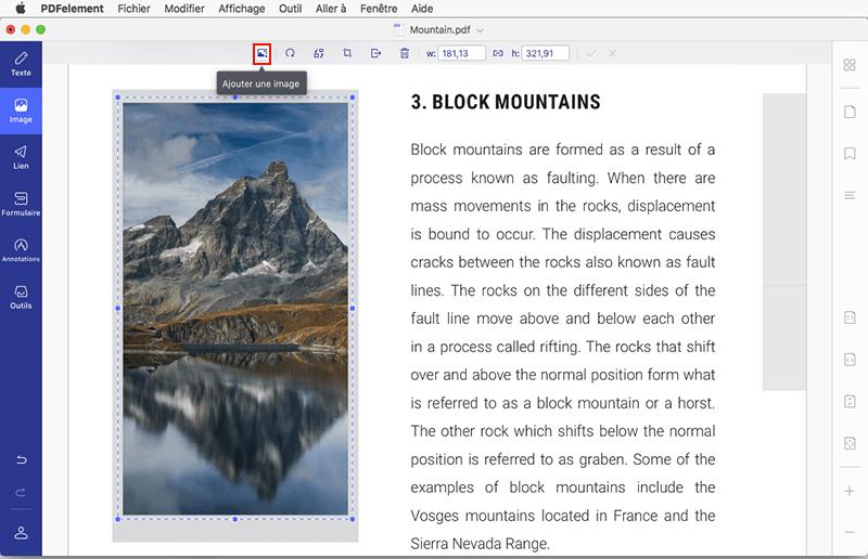 comment ajouter des images dans un pdf sur macos 10 14 mojave