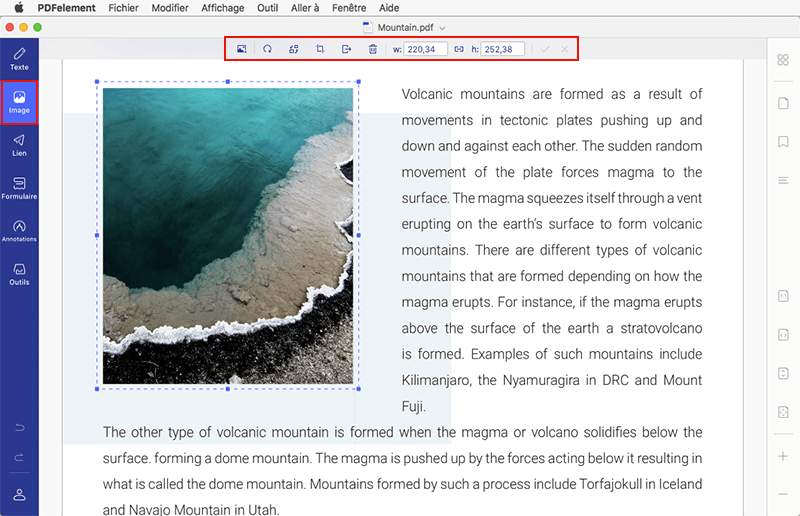 modifier pdf indesign