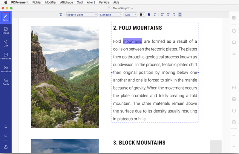 pages en pdf mac