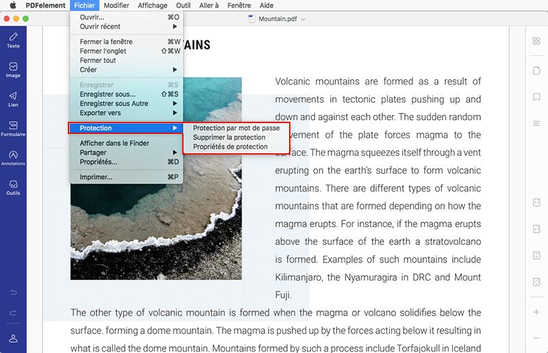 Protéger un pdf avec un mot de passe sur mac