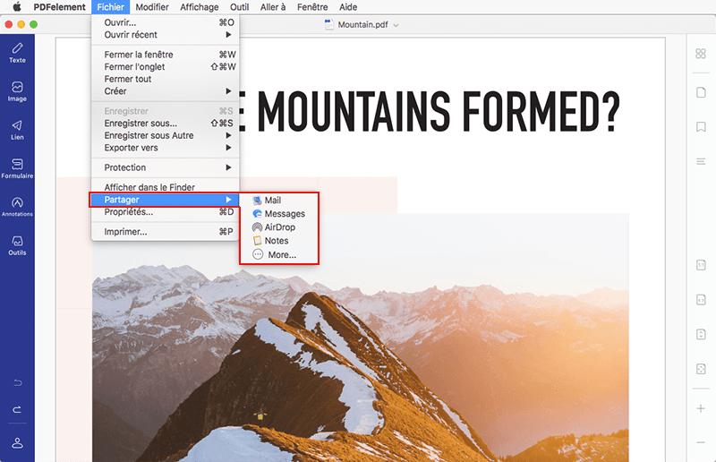 comment ouvrir un fichier pdf avec mac