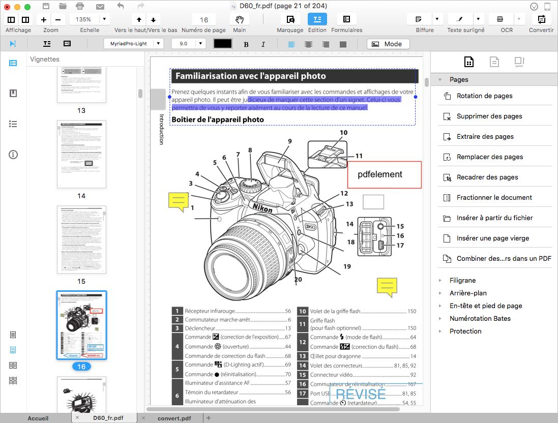 comment éditer pdf avec illustrator