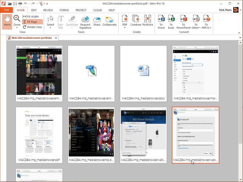 pdf bearbeiten mit N