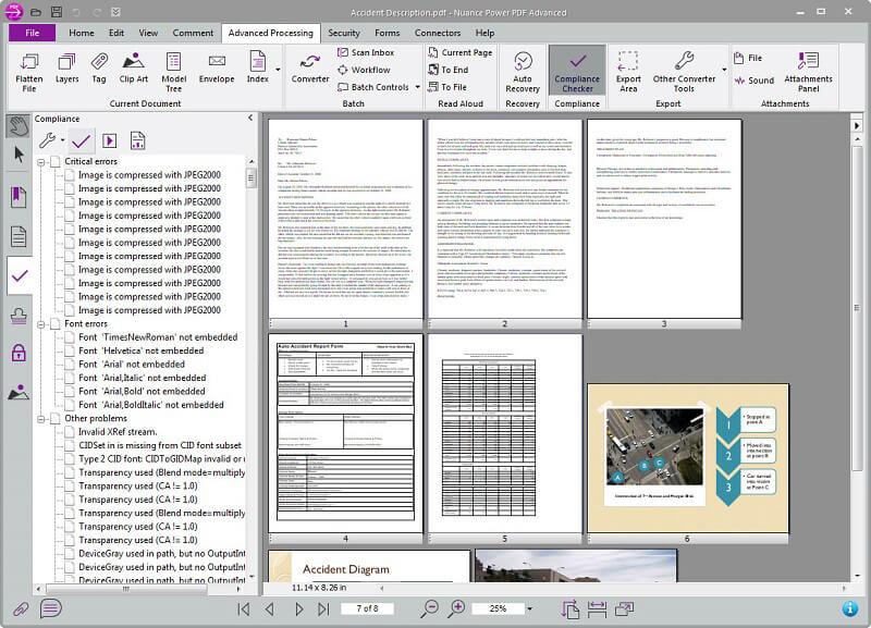 PDF bearbeiten mit Nuance