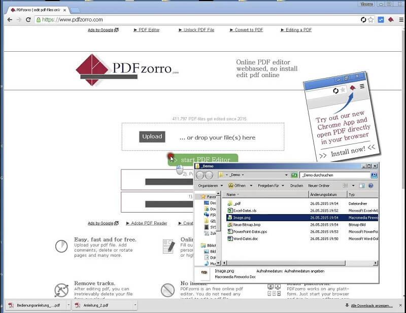 éditer pdf avec logiciel en ligne