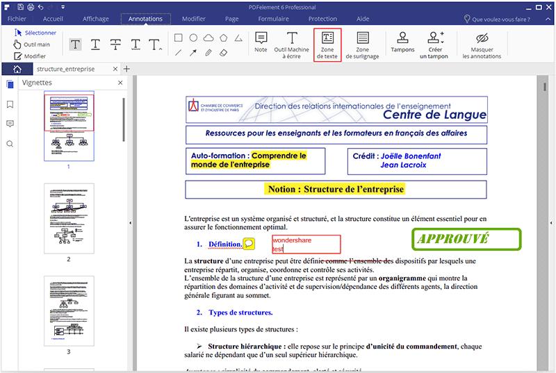 comment annoter un pdf sur mac