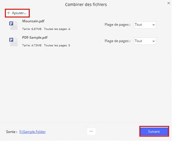 combiner adobe pdf