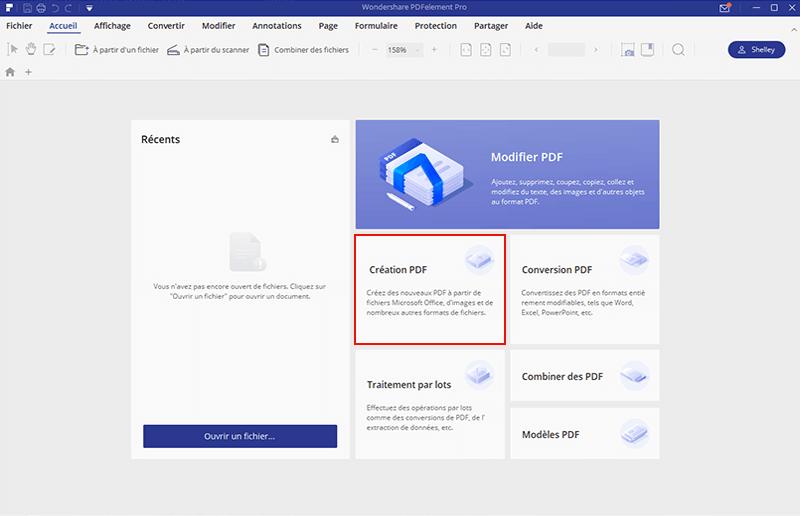 comment convertir une page web en PDF