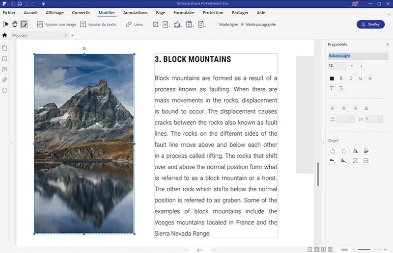 modifier une image dans un pdf