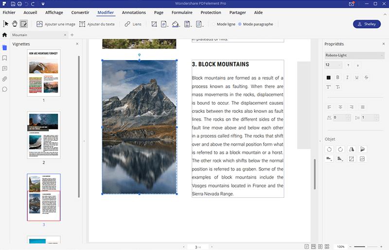 comment insérer une image dans un pdf