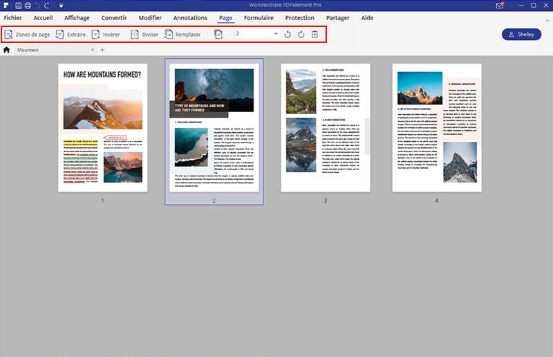 ajouter des pages à un pdf