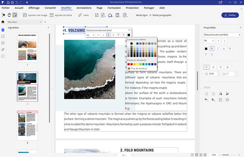 imprimante firefox pdf