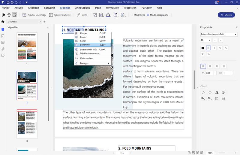 comment supprimer le texte d u2019un pdf