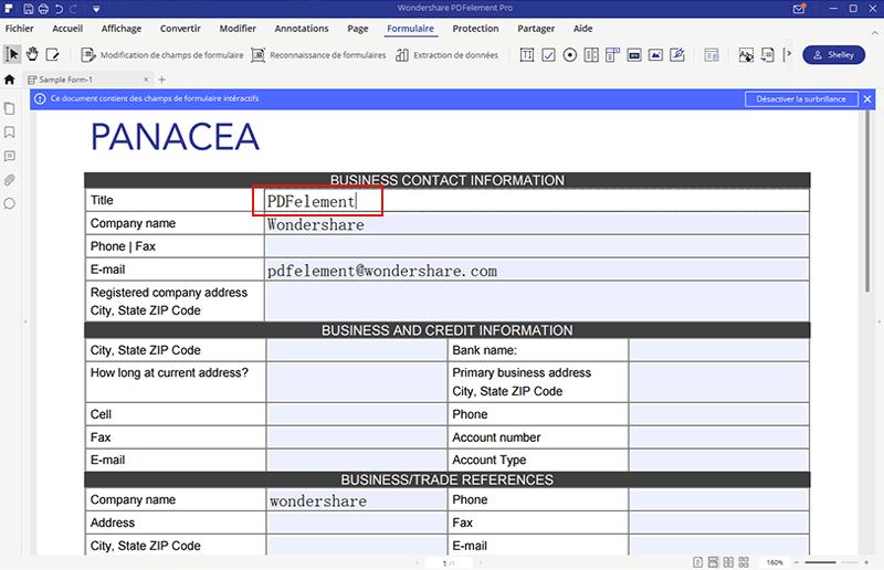 comment convertir un fichier pdf en formulaire à remplir