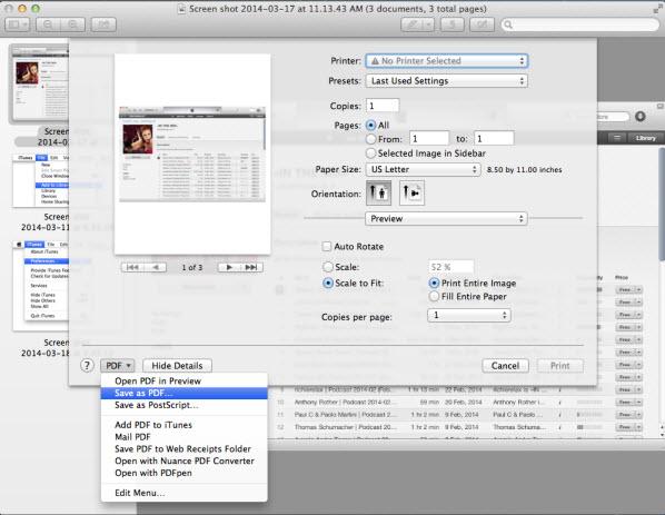 JPG in PDF umwandeln auf Mac