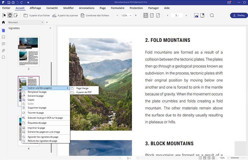 fusionner PDF