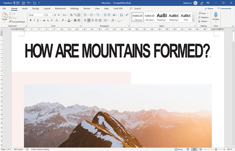 pdf à word windows 10