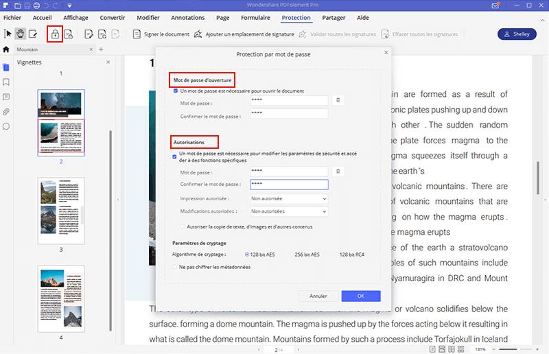 piratage fichier pdf protégé par mot de passe