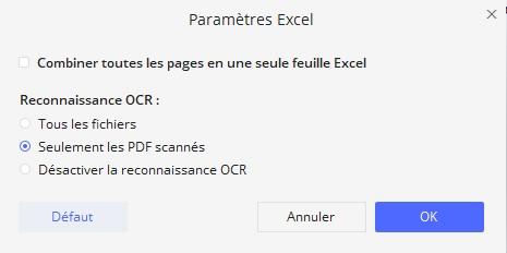 comment convertir pdf en excel