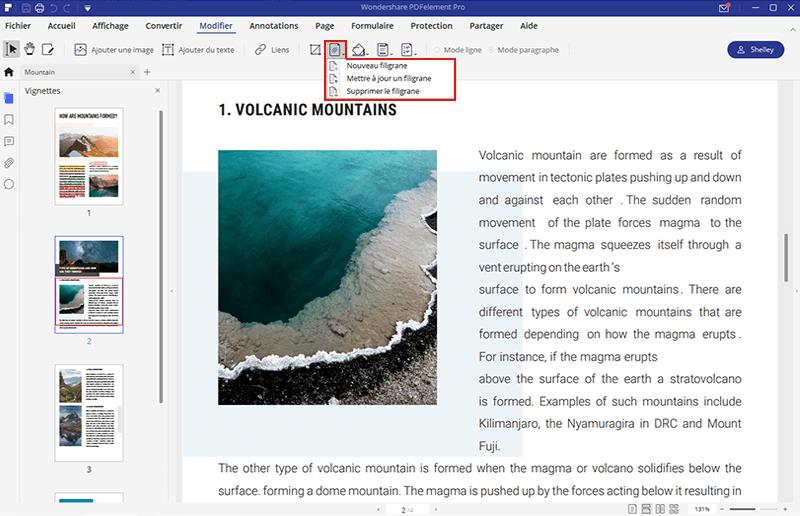 le meilleur logiciel pour supprimer les filigranes des PDF