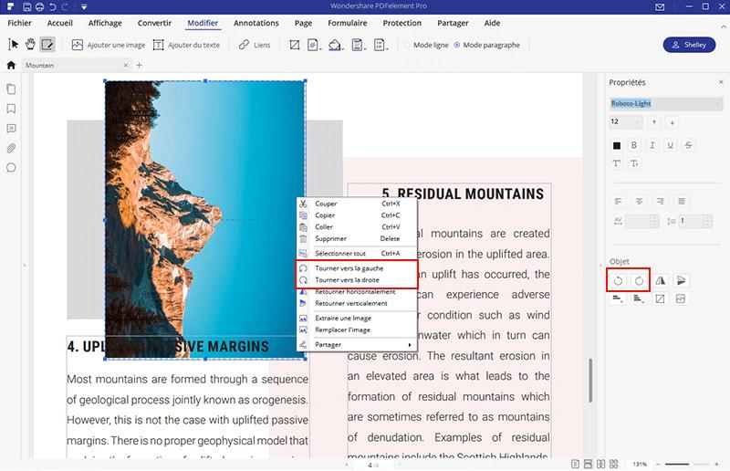 tourner et fusionner pdf