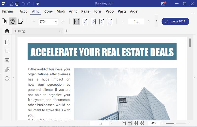 pdf pour windows