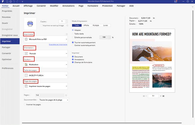 comment imprimer un pdf recto verso