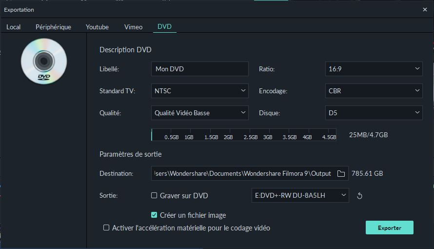 Qualité DVD