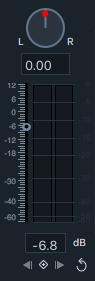 Ajuster le volume Audio Filmora 9 Mac