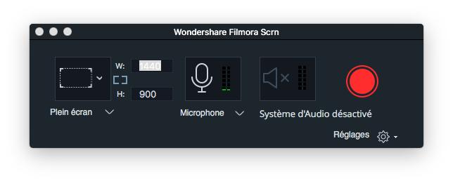 Enregistrer écran Mac