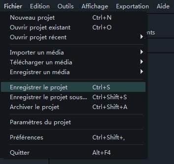 Enregistrer-projet