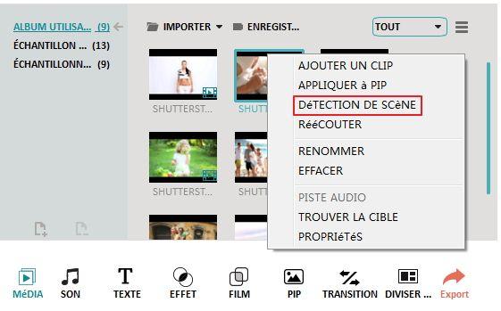 La d tection de sc ne en logiciel de montage vid o wondershare filmora video editor - Logiciel couper video mac ...