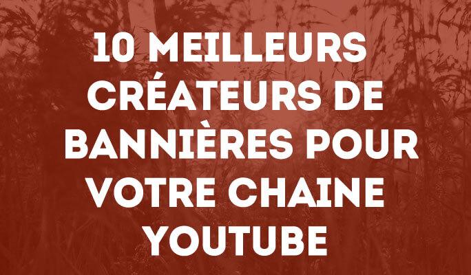 Créer vos Propres Bannières pour votre Chaine YouTube