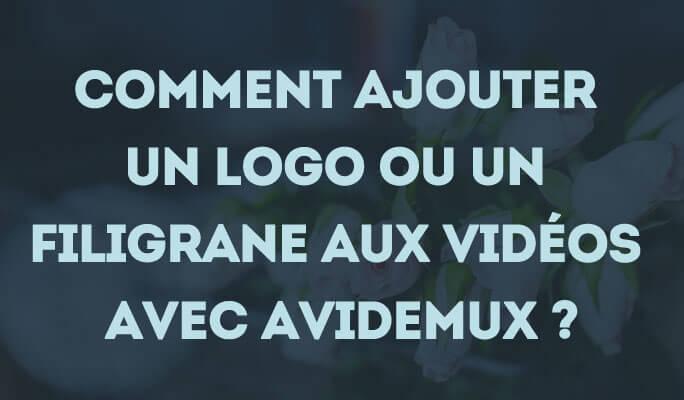 4 façons d'ajouter un logo ou un filigrane aux vidéos avec Avidemux
