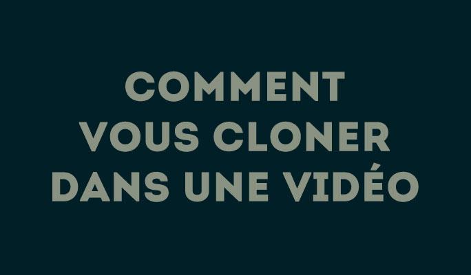 Comment vous cloner dans une vidéo avec Wondershare Filmora9?