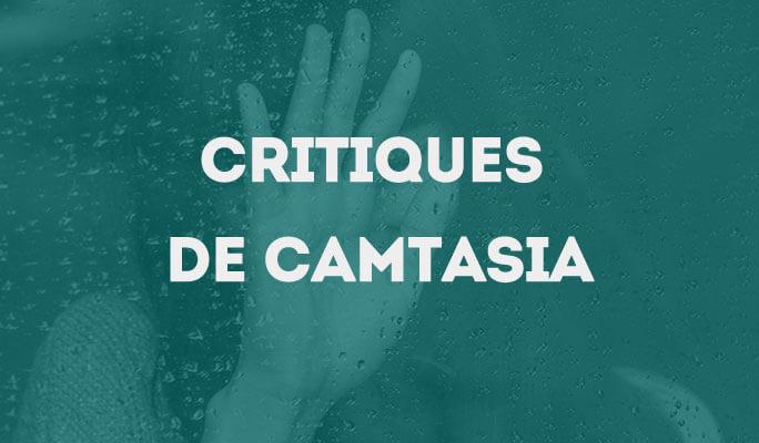 Critiques de Camtasia