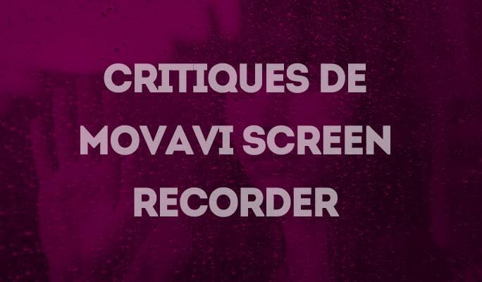Critiques de Movavi Screen Recorder
