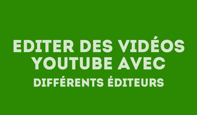 Montage vidéos pour YouTube,  Obtenir une qualité de niveau professionnel