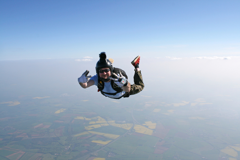 Le parachutisme écran vert