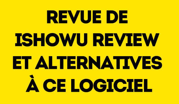Revue de iShowU Review et alternatives à ce logiciel