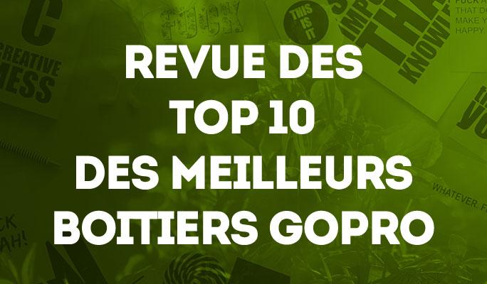 Revue des Top 10 des Meilleurs Boitiers GoPro